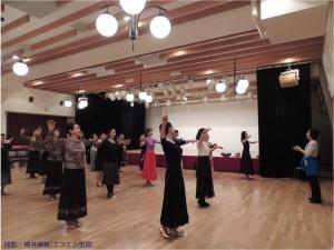 2015.3.13『』レビュー・ステイションk舞踏会ダンスレッスン2