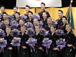 『レビュー・ステイション』2016.3.1宝塚音楽学校卒業式(102期生)5