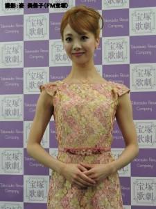 『レビュー・ステイション』2016.4.28星組トップ娘役 妃海風 退団会見3