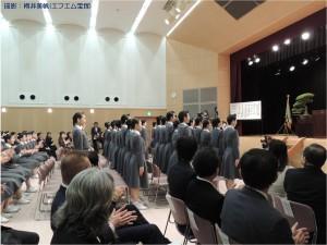 『レビュー・ステイション』2016.4.16宝塚音楽学校第104期生入学式6