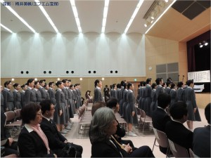 『レビュー・ステイション』2016.4.16宝塚音楽学校第104期生入学式15