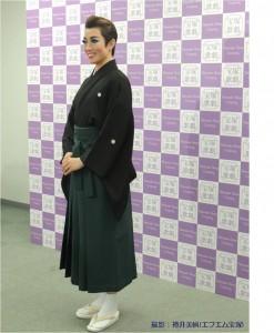 『レビュー・ステイション』北翔海莉 宝塚大劇場ラストデイ5