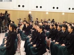 宝塚音楽学校卒業式②