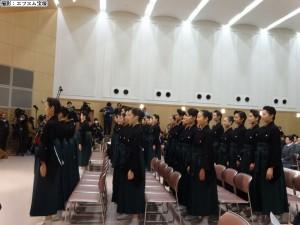 宝塚音楽学校卒業式①