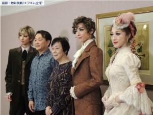 花組公演『ポーの一族』囲み取材2