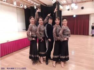 2015.3.13『レビュー・ステイション』舞踏会ダンスレッスン3