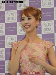 『レビュー・ステイション』2016.4.28星組トップ娘役 妃海風 退団会見1