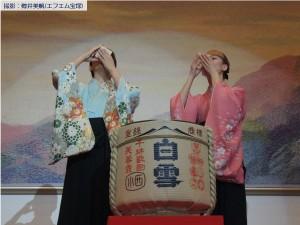新春鏡開き(珠城・愛希)8