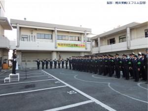 一日警察署長(瑠風輝)16