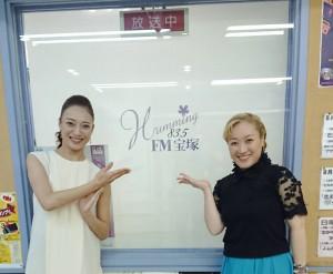 紫鳳あけのさん&紫峰七海さん