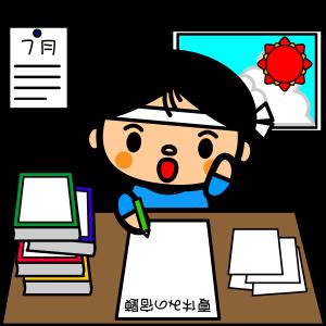 summer-vacation_homework-boy01