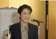 轟悠さん退団記者会見2